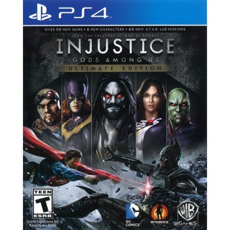 Price comparison product image Injustice: Gods Among Us - Ultimate Edition (PS4) WLM