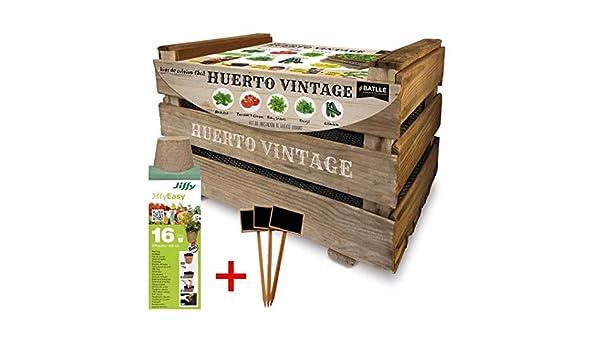 Kit especial Huerto Vintage Batlle: Amazon.es: Jardín