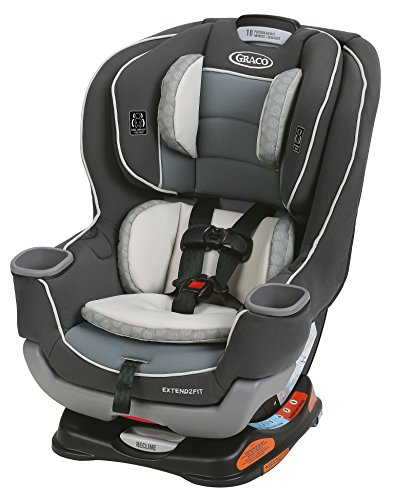 Graco Extend2Fit Convertible Car Seat, Davis (Best Car Seat For Infant Through Toddler)