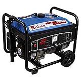Rrtizan Gas Power Portable Generator, 3500 Running Watts/4200 Starting Watts Wheel Kit