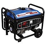 Rrtizan Gas Power Portable Generator, 3500 Running Watts/4200 Starting Watts, with Wheel Kit …