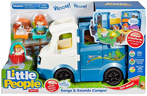 51sYZjqToDL - Fisher-Price Little People Songs & Sounds Camper