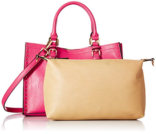 Casual Novelty Klein Tote Pink Calvin Unlined Miami PSZwgqa