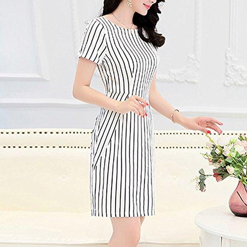 Damen DISSA Kleider Cocktail Abendkleid Weiß S1730 Kleid Übergröße Seide Maxi Geblümt wwCf5Oq