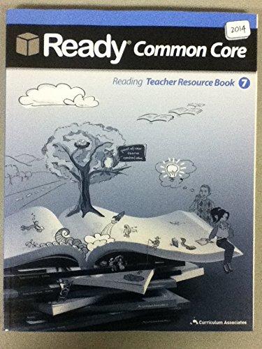 Reading Teacher Resource Book 7 - 2014 Ready Common Core