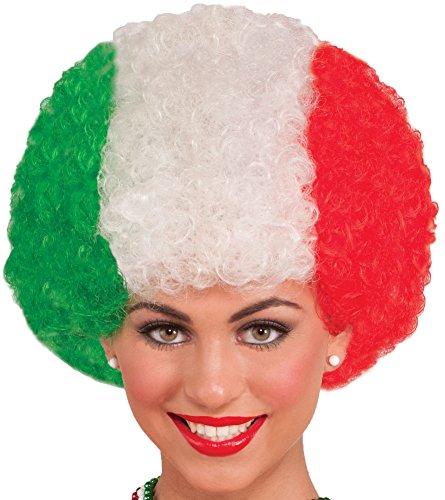 Forum Novelties Men's Novelty Italian Afro Wig, Multi, One Size]()