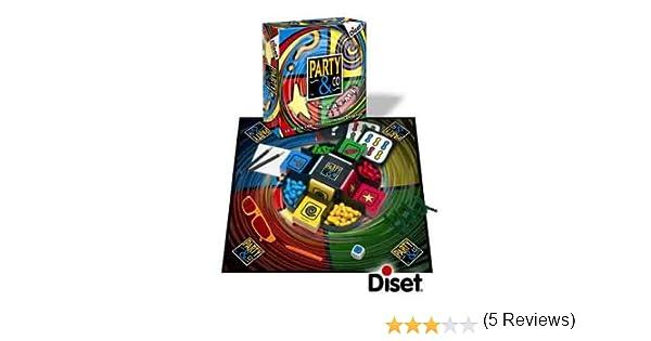Diset 10088 - Party & Co Extreme 2.0: Amazon.es: Juguetes y juegos