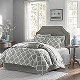 House of Hampton Nantwich Comforter Set (Grey, California King)