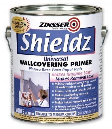 Zinsser 02501 1 Gallon White Shieldz Universal Wallcovering Primer