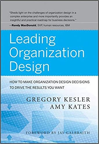 How to Make Organization Design Decisions to Drive the Results You Want Leading Organization Design