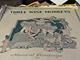 img - for THREE WISE MONKEYS (NO. 1992) book / textbook / text book