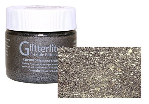 Angelus Glitterlites Flexible Glittercoat Paint 1oz Gun