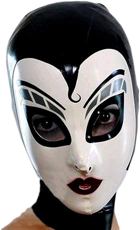 Tingshop 100 Latex Mask Rubber Hood Fetish Full Porn Restriction
