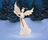 Light-Up Angel with Harp 5 FT. Christmas Yard Decor Decoration