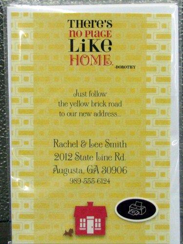 Hallmark Invitations PRT1187 New Home Wizard of Oz Invitations Kit -