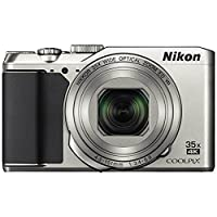 Nikon Coolpix A900 4K Wi-Fi Digital Camera (Silver) - (Certified Refurbished) by Nikon