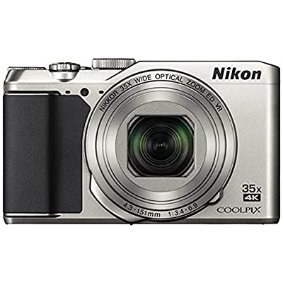 Nikon Coolpix A900 4K Wi-Fi Digital Camera (Silver) - (Certified Refurbished) by Nikon