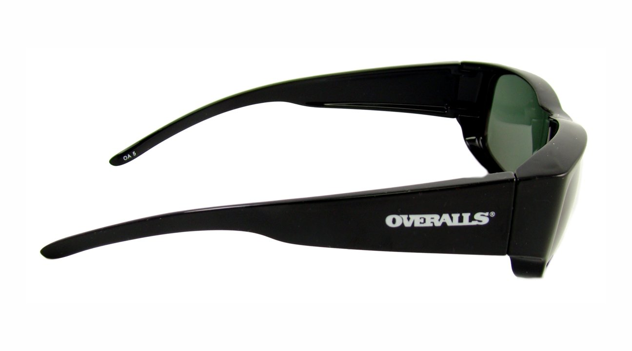 199b8e1f9d Amazon.com  Overalls Sunglasses with Polarized Black and Grey Lens  Sports    Outdoors