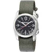 Bertucci A-2S Field 22mm Quartz Movement Watch, Black/Defender Drab