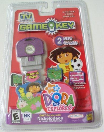 Amazon.com: Plug It In & Play Nick Jr. Dora the Explorer Gamekey ...