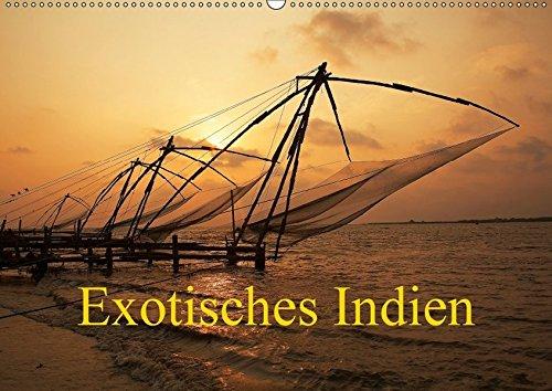 Exotisches Indien (Wandkalender 2018 DIN A2 quer): Indien in Kultur und Landschaft (Monatskalender, 14 Seiten ) (CALVENDO Orte)