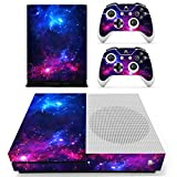 xbox one controller decal cover - Vanknight Xbox One S Slim Console Remote Controllers Skin Set Vinyl Skin Decals Sticker Cover for Xbox One Slim (XB1 S) Console