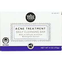Whole Foods Market, Acne Treatment Daily Cleansing Bar, 4 oz