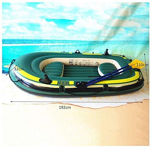Amazon.com: Kayaks - Juego de barcos hinchables para 3 ...