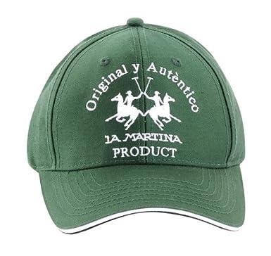 La Martina - Gorra de béisbol - para hombre Verde verde Talla ...