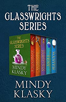 The Glasswrights Series: The Glasswrights' Apprentice, The Glasswrights' Progress, The Glasswrights' Journeyman, The Glasswrights' Test, and The Glasswrights' Master by [Klasky, Mindy]