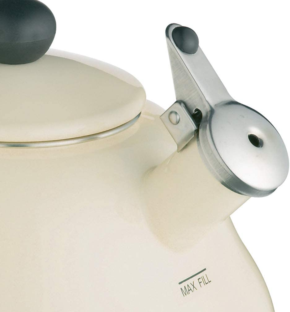 Le'Xpress Cream Whistling Kettle - 2 Litres