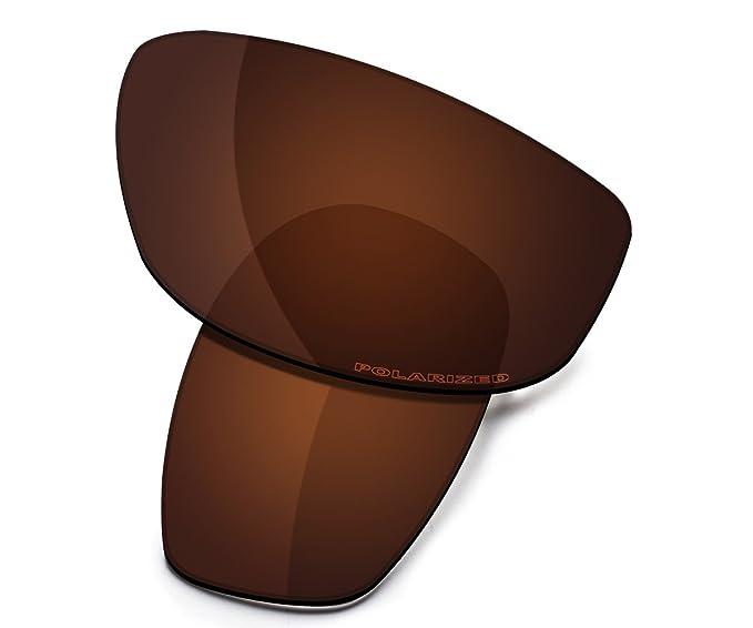e47bec3622 Saucer Premium Replacement Lenses for Oakley Blender Sunglasses High  Defense - Amber Brown Polarized