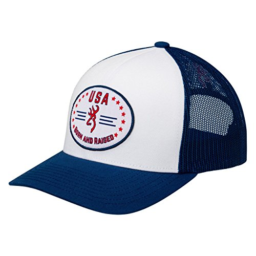 Browning Born and Raised American Classic Hunting Snapback Hat - Browning Hats Hunting