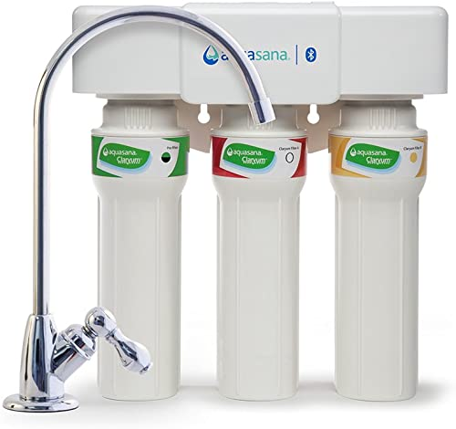 Aquasana AQ-5300 .56 3-Stage Max Flow Under Sink Water Filter