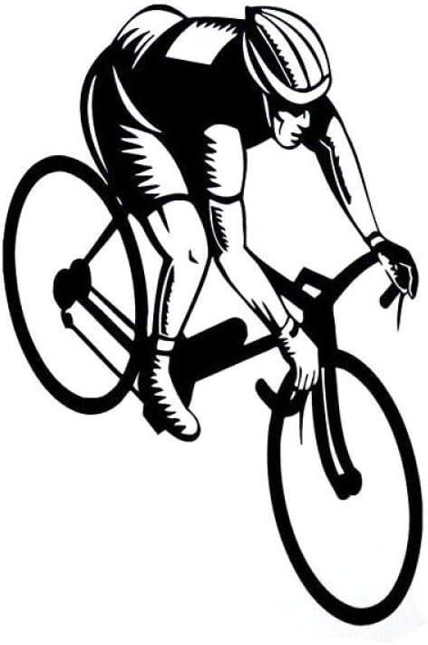 9.3 cm * 13.6 cm gimnasio decoración niño ciclismo bicicleta ...