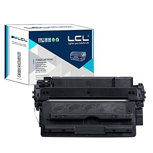 LCL Compatible for HP 16A Q7516A (1-Pack Black) Toner Cartridge for HP (5200tn Laser Printer)