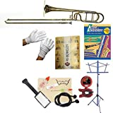 RS Berkeley TB704 Elite Series Bb Trombone with F Attachment, Case & Bonus RSB MEGA PACK w/Accent in achievement Book