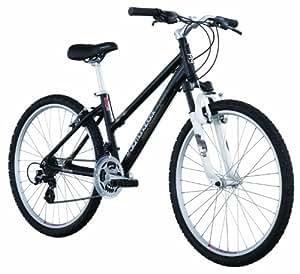 Diamondback Lustre Two Women's Mountain Bike (26-Inch Wheels), Satin Black, Small/15-Inch