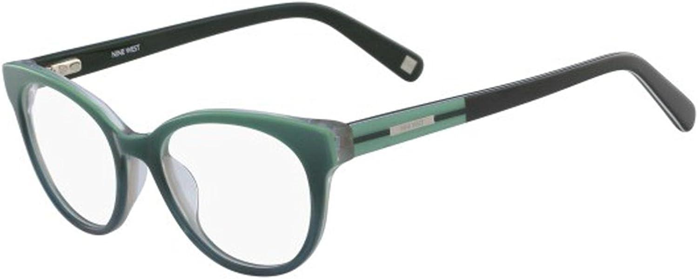 Nine West Eyeglasses NW5087 020 Smoke Horn Gradient