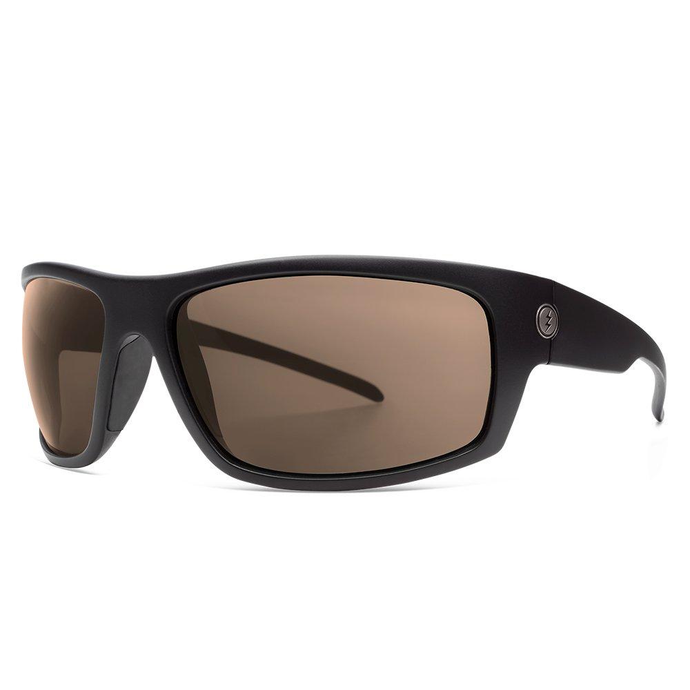 eccb1304f6 Amazon.com  Electric Visual Tech One XLS Matte Black Polarized Bronze  Sunglasses  Clothing