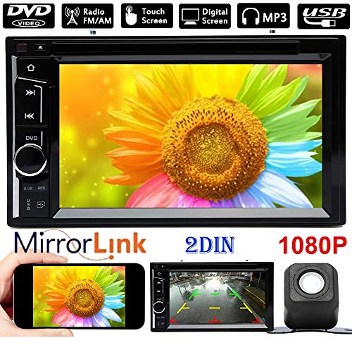 Touch Screen Car Radio 2Din 6.2inch Bluetooth Mirror Link Stereo Aux In CD/DVD Player Audio Rear Camera For Chevrolet Silverado 3500 Sonic Spark 2012-2015