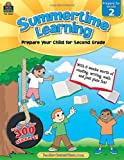 Summertime Learning, Grade 2, Teacher Created Resources Staff, 1420688421