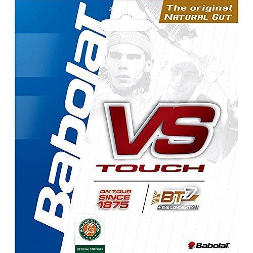 - Babolat - Cordage Boyau Vs Touch - 12 M - Taille : 130/16