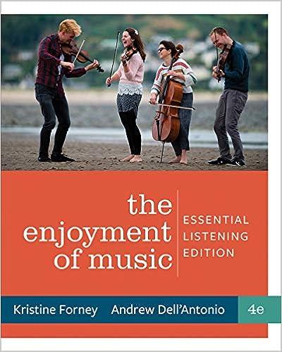 Enjoyment of Music: Essential Listening , Fourth Edition