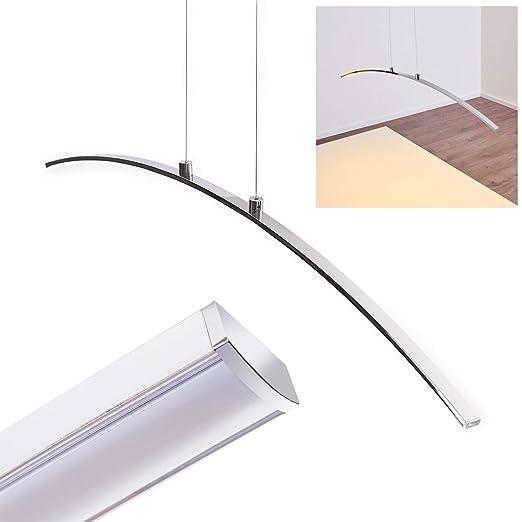 Lámpara Ajustable Eficiencia cocina Techo de Lumens comedor salón LED Lámpara Altura LED 1x 12W Alta Colgante 780 Vidsel PXZilTwuOk