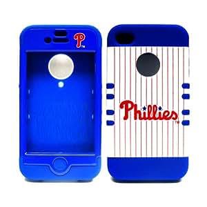 Unlimited Cellular MLB Rocker Series Case for Apple iPhone 4 (Philadelphia Phillies)