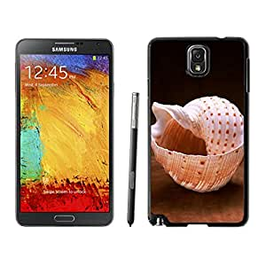 Cute Samsung Galaxy Note 3 Case Conch Shell Black Cell Phone Hard Cover Accessories