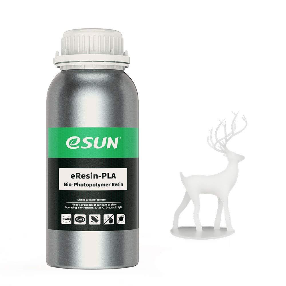 eSUN Impresora 3D Bio Resina para Impresoras LCD 3D, 500 g eResin ...