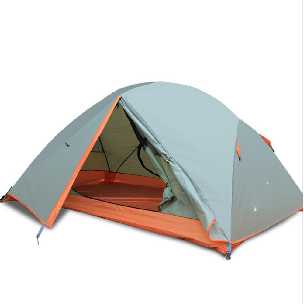 屋外テント二重デッキアルミテントテントフィールドキャンプ防止雨嵐防水キャンプ B07C1JG4KJ, セレクトサニー:b03191db --- ijpba.info