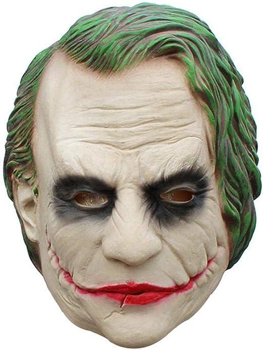 Máscara de Joker Batman Payaso Disfraz Cosplay película Adulto ...